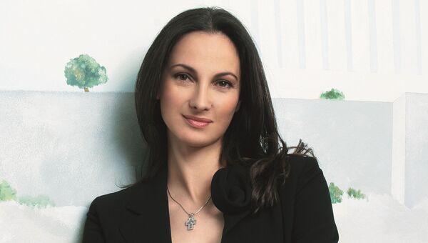 Первый заместитель министра экономики Греции Елена Кундура