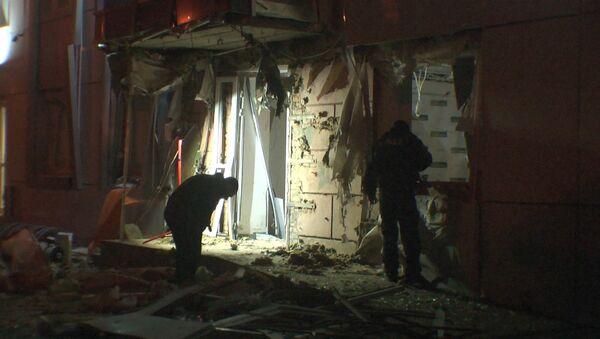 Следователи осмотрели место взрыва у офиса партии Самопомощь в Одессе