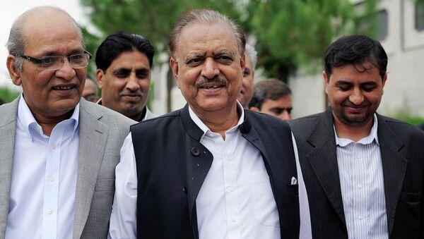 Президент Пакистана Мамнун Хуссейн. Архивное фото