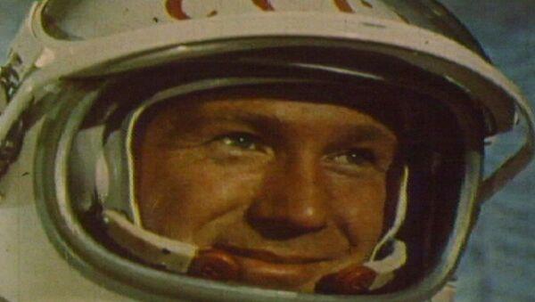 Алексей Леонов первым в истории вышел в открытый космос. Кадры из архива