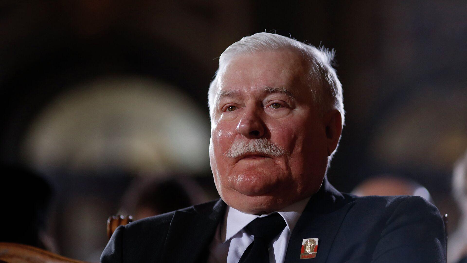 Бывший президент Польши Лех Валенса  - РИА Новости, 1920, 15.06.2021