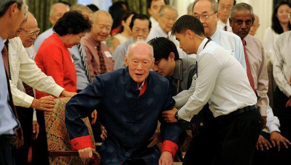 Первый премьер-министр Республики Сингапур Ли Куан Ю, архивное фото