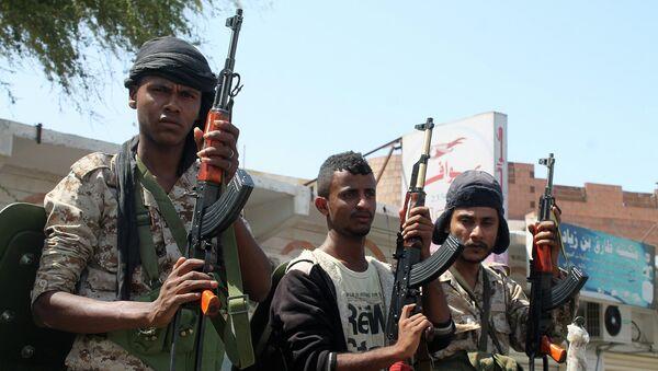 Солдаты, лояльные президенту Йемена Абд Раббу Мансур Хади. Архивное фото