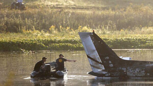 Аргентинский самолет с пассажирами разбился в Уругвае