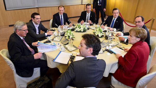 Встреча в рамках саммита лидеров стран ЕС в Брюсселе