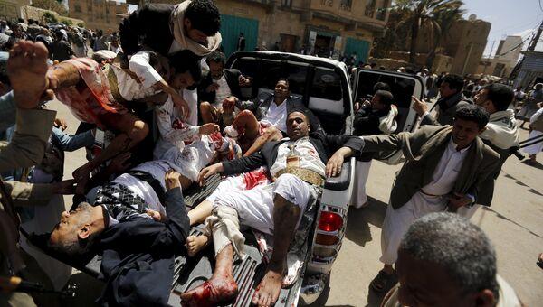 Теракт в столице Йемена, городе Сана