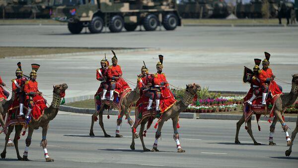 Военный парад по случаю Дня Пакистана в Исламабаде. 23 марта 2015