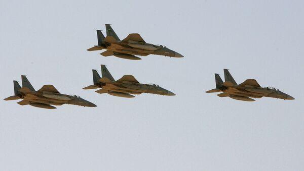 Истребители F-15 ВВС Саудовской Аравии. Архивное фото