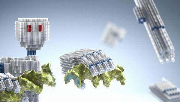 ДНК-трансформер в представлении художника