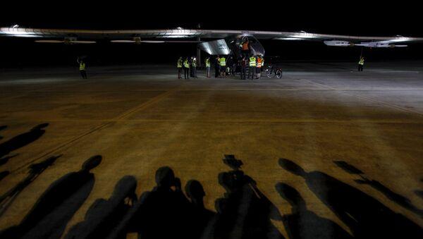 Самолет Solar Impulse 2 в Мьянме