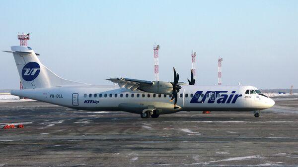 Самолет ATR 72 авикомпании ЮТэйр