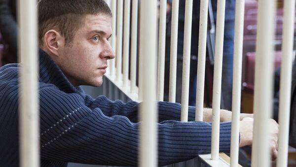 Степан Комаров, признанный виновным в расстреле прихожан в храме Южно-Сахалинска. Архивное фото