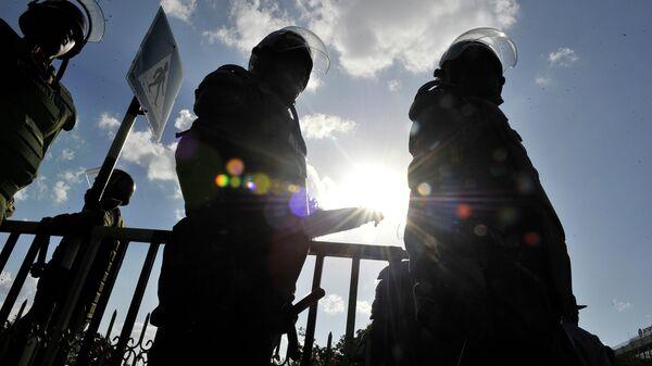 Полицейские в Кении