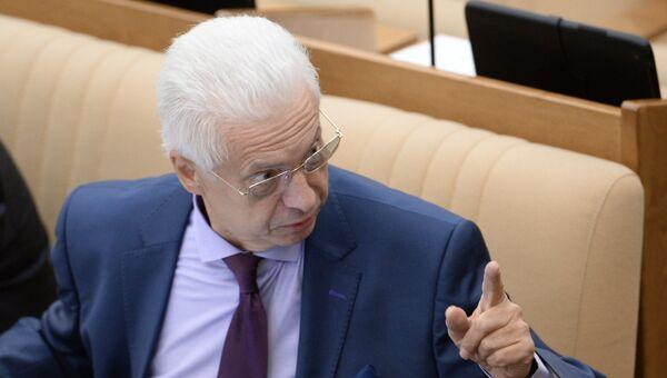 Член комитета ГД по безопасности и противодействию коррупции Николай Ковалев. Архивное фото