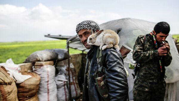 Курдский повстанец. Архивное фото