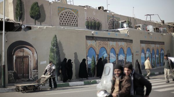 Рынок в Тегеране. Архивное фото
