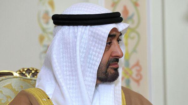 Наследный принц Абу-Даби Мухаммед бен Заид Аль Нахайян. Архивное фото