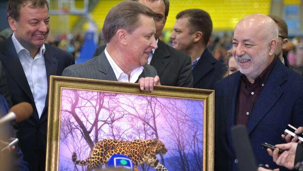 Рабочая поездка главы администрации президента РФ С.Иванова в Ульяновск