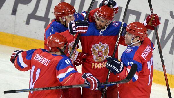 Сурдлимпиада 2015. Хоккей. Матч Россия - Канада
