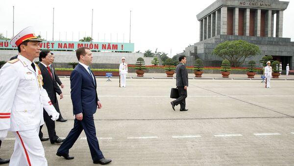 Официальный визит премьер-министра Д.Медведева во Вьетнам
