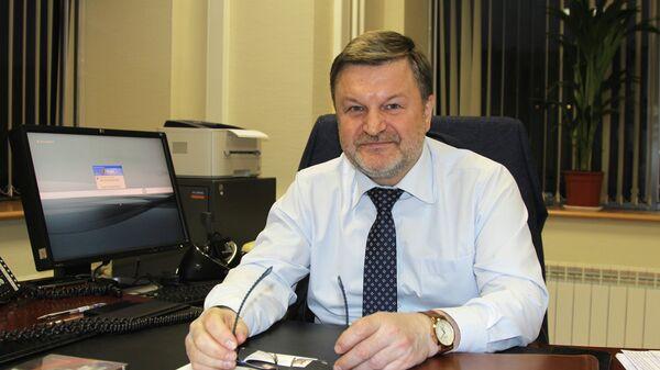 Начальник департамента международного сотрудничества корпорации Ростех Виктор Кладов.