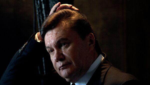 Бывший украинский президент Виктор Янукович. Архивное фото