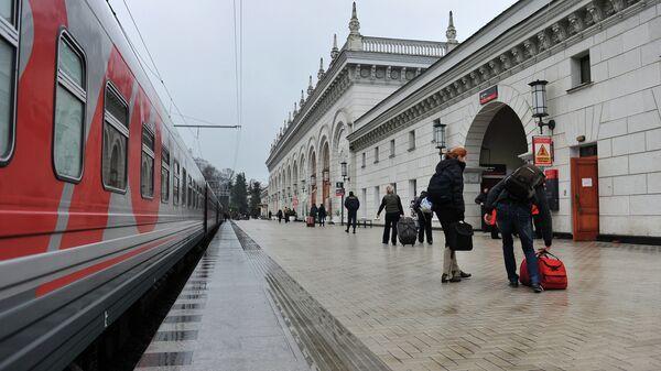 Путешествие из Москвы в Сочи на поезде
