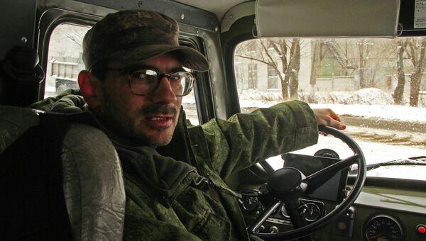 Журналист телеканала Звезда. Архивное фото