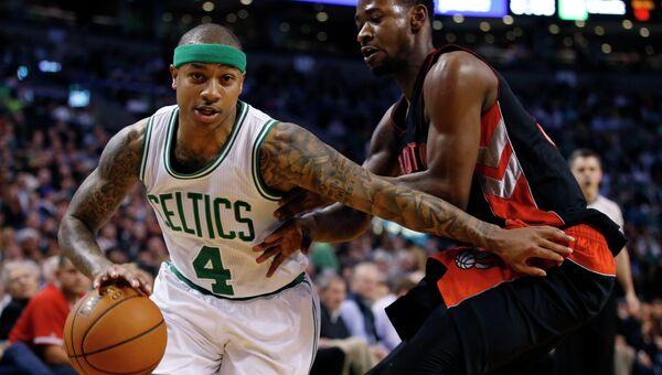 Баскетболисты Бостона обыграли Торонто в домашнем матче регулярного чемпионата НБА
