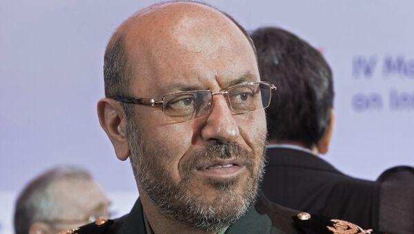 Министр обороны Ирана Хоссейн Декган. Архивное фото
