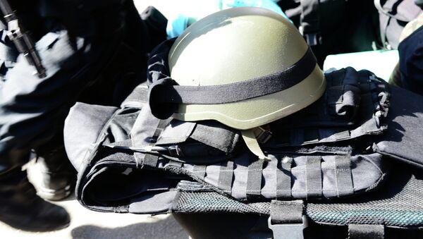 Добровольцы народного ополчения батальона Восток переподчинили воинскую часть №3037 в Донецке