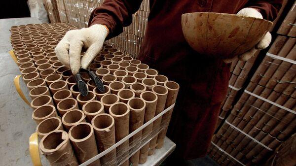 Производство фейерверков