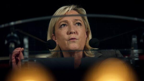 Лидер Национального фронта Марин Ле Пен. Архивное фото