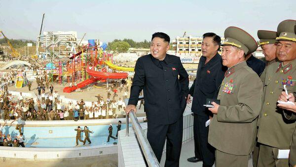 Высший руководитель КНДР Ким Чен Ын. Архивное фото
