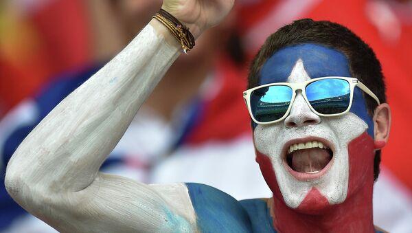 Футбол. Чемпионат мира - 2014. Матч Испания - Чили