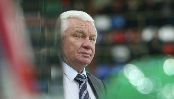 Главный тренер команды Салават Юлаев Сергей Михалев. Архивное фото