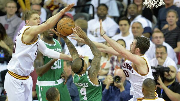 Матч НБА Кливленд - Бостон