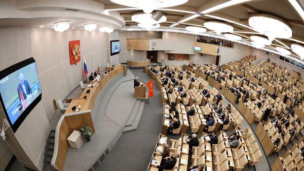 Пленарное заседание Госдумы РФ, 24 апреля 2015.