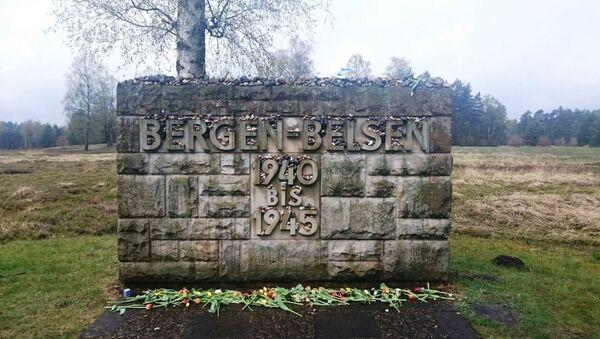 Мемориальный комплекс на месте концентрационного лагеря Берген-Бельзен