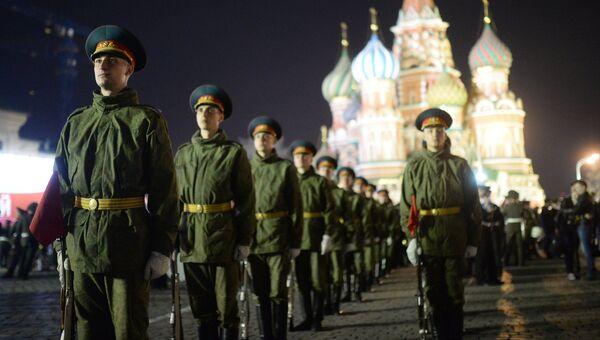 Репетиция парада Победы в Москве. Архивное фото