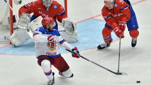Хоккей. Чемпионат мира - 2015. Матч Россия - Норвегия