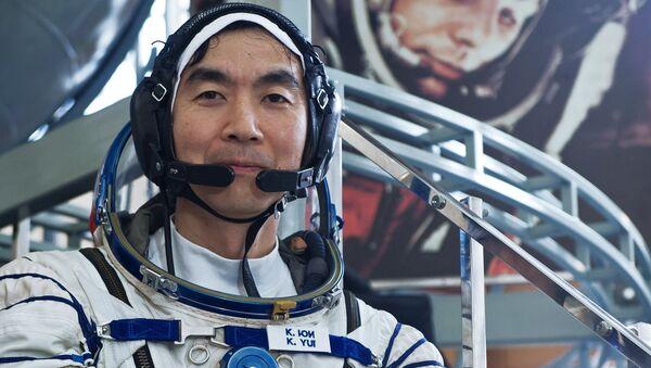Участник экипажа Международной космической станции-44/45 астронавт ДжАКСА Кимия Юи (Япония)
