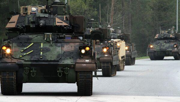 Американская боевая машина пехоты Брэдли. Архивное фото