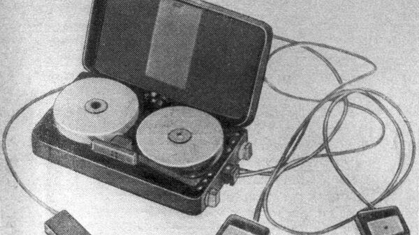 Портативный магнитофон американского шпиона Смита