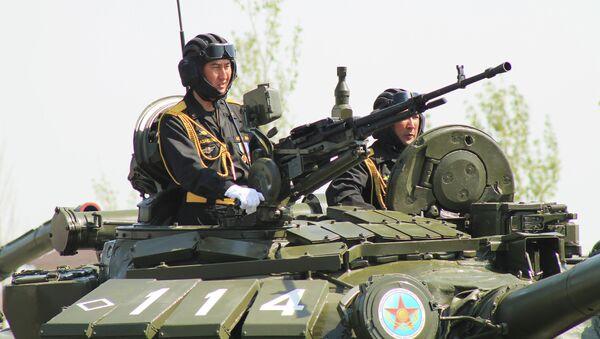 Казахские военные. Архивное фото