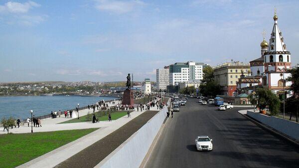 Нижняя набережная Ангары, Иркутск