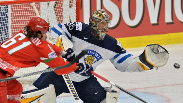 Хоккей. Чемпионат мира - 2015. Матч Финляндия - Белоруссия