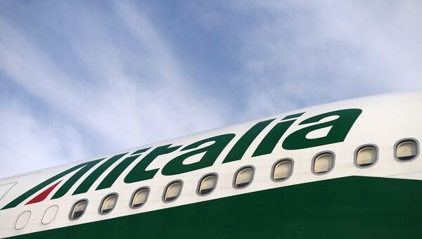 Самолет компании Alitalia. Архивное фото