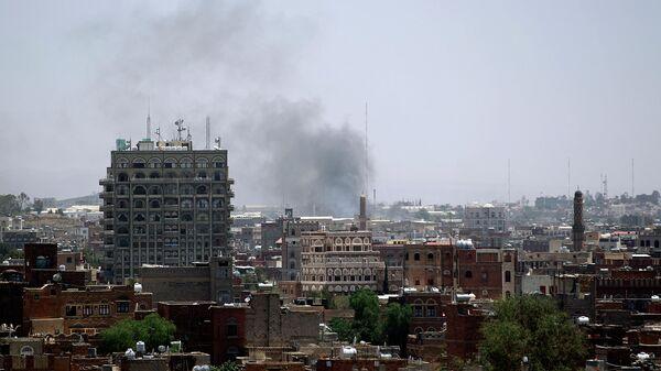 Вид на столицу Йемена город Сану. Архивное фото