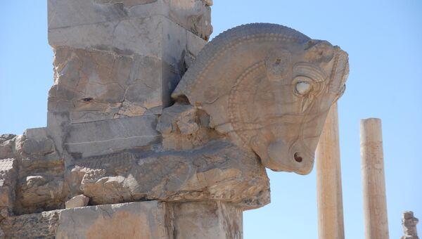 Развалины Песеполиса в Иране